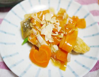 白身魚のとろりん中華煮
