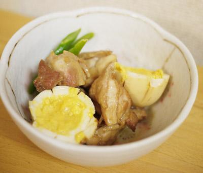鶏肉とゆで卵のさっぱり煮|ベネッセの食材配達